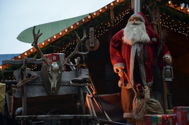 Glühweinstand auf einem von fünf Weihnachtsmärkten in Münster © entdecker-greise.de