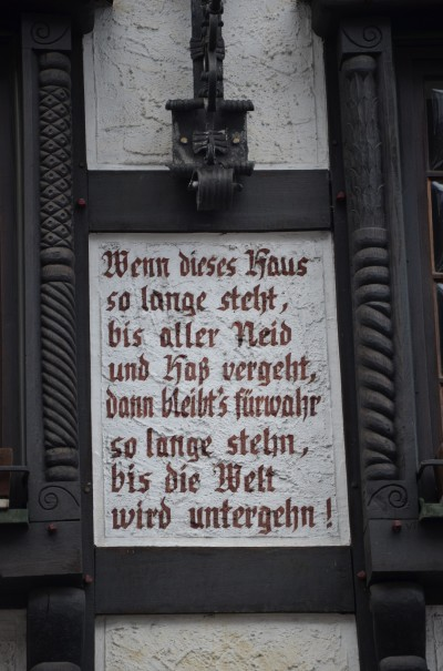 Noch eine Weisheit für den Weg ... © entdecker-greise.de