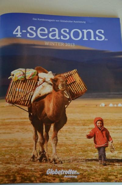 Globetrotter Kundenmagazin 4-seasons.de entdecker-greise.de