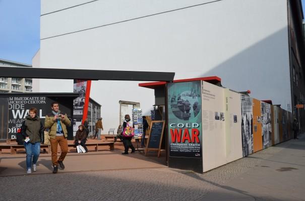 Historie am Checkpoint Charlie ©entdecker-greise.de