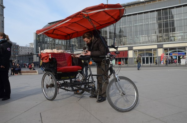 Ingos Rikscha Taxi ©entdecker-greise.de