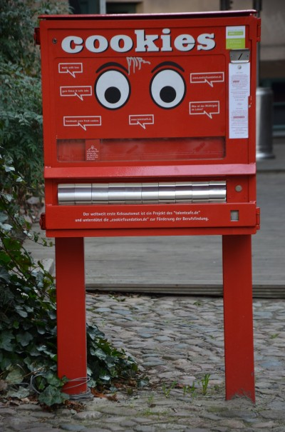 Keksautomat in Berlin ©entdecker-greise.de