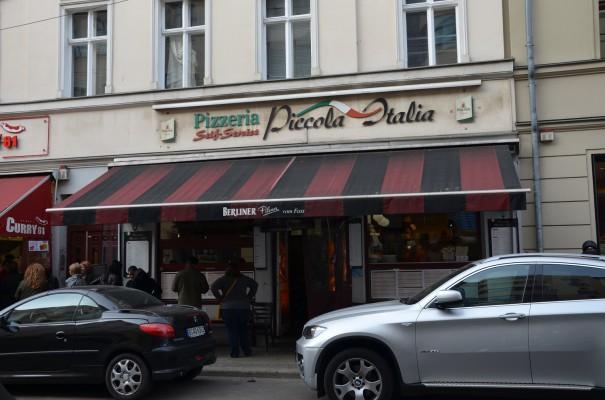 Klein, aber fein - Pizzeria Piccola Italia in Berlin-Mitte ©entdecker-greise.de
