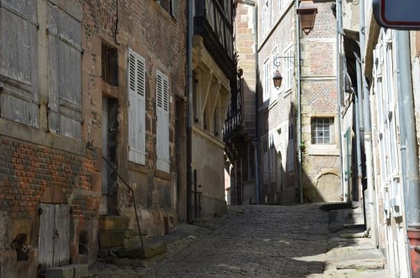 Rue de l`Ancien Palaise in Moulins ©entdecker-greise.de