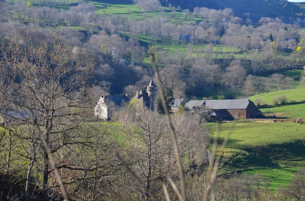 Le bourg de Cheylade ©entdecker-greise.de