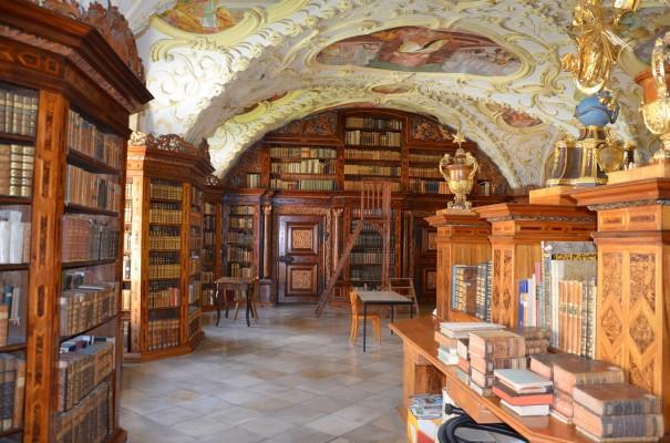 Bücherhimmel im Kloster Lilienfeld ©entdecker-greise.de
