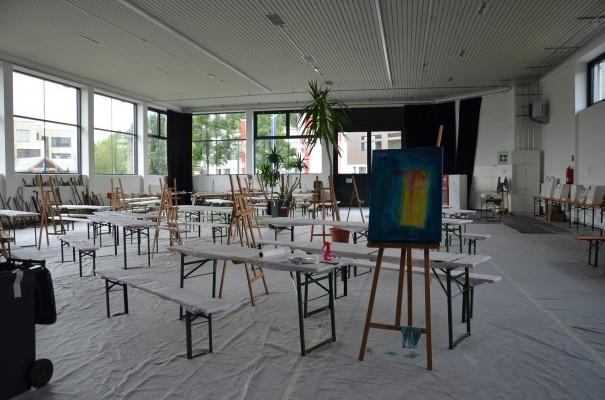 Die Ruhe vor dem künstlerischen Sturm der Natura.Kreativ ©entdecker-greise.de