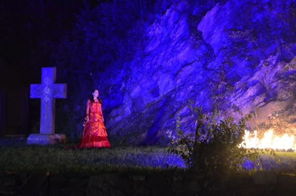 Das Dracula-Theater auf Burg Lockenhaus - ein unvergessliches Spektakel! ©entdecker-greise.de