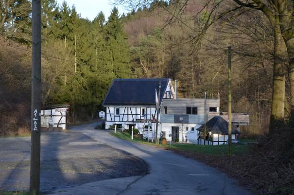 Die Hermerather Mühle, im Sommer sicherlich ein schönes Ausflugsziel ©entdecker-greise.de