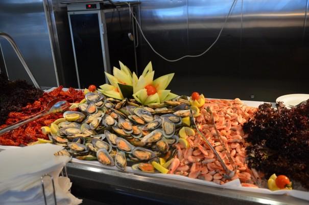 Seafood auf der DFDS Seaways - gigantisch, oder ... ©entdecker-greise.de