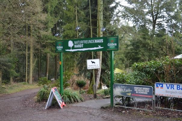 Das Naturfreundehaus Hardt, im Sommer sicherlich eine schöne Einkehrmöglichkeit ©entdecker-greise.de