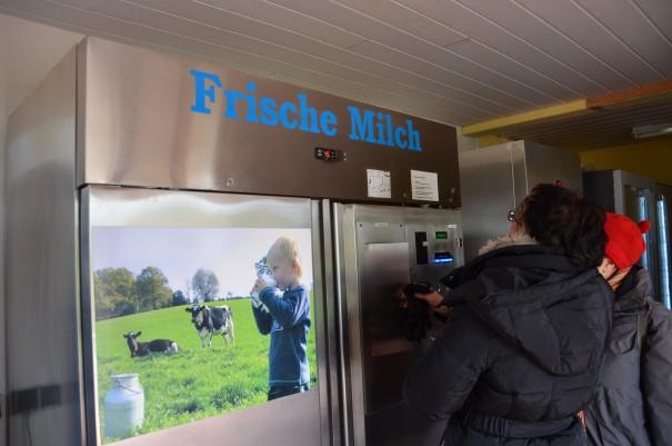Die Milchzapfstation in Oberlerbach ©entdecker-greise.de