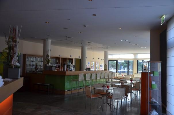 Die H2O Bar im Hotel Esplanade Resort & Spa Bad Saarow