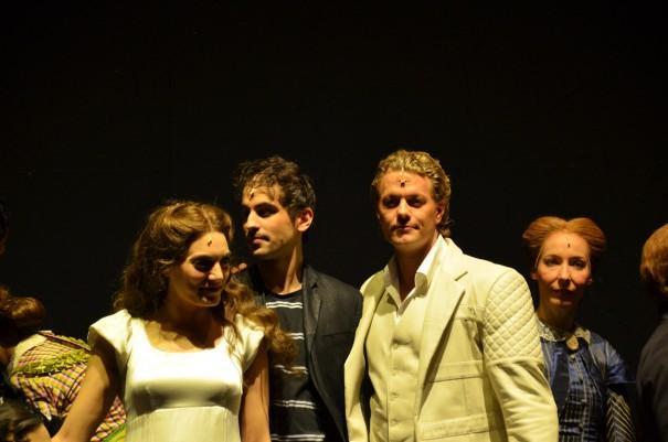Die Hauptdarsteller beim Meet and Great - ein tolles Erlebnis! ©entdecker-greise.de