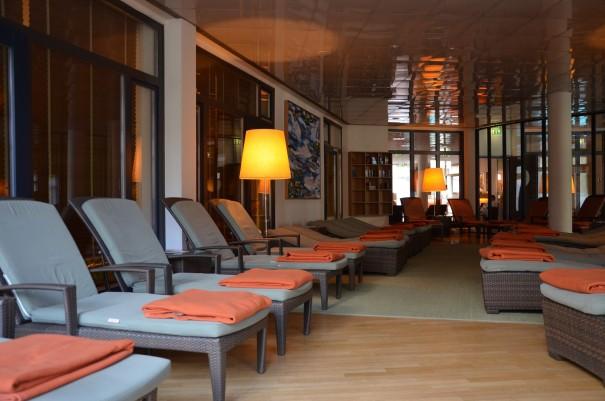 Nach Saunagang oder Wellnessbehandlung läßt sich hier die Ruhe wunderbar genießen ©entdecker-greise.de