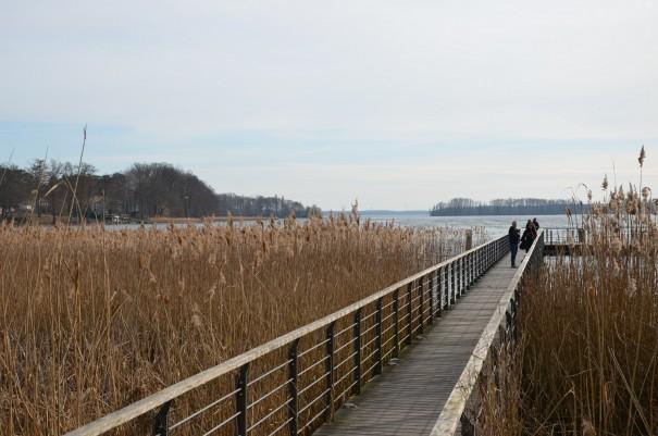 Und hier kann ich sogar übers Wasser gehen ... ©entdecker-greise.de