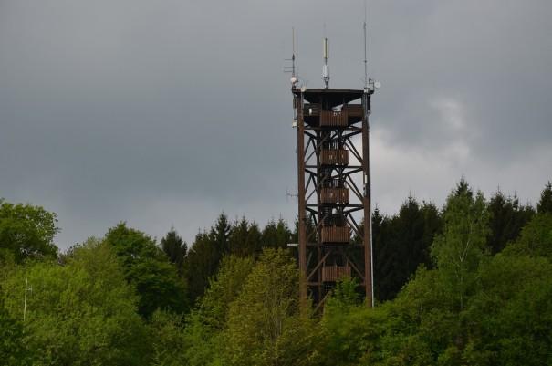 Der Raiffeisenturm direkt am Westerwald Steig #TTwandern ©entdecker-greise.de