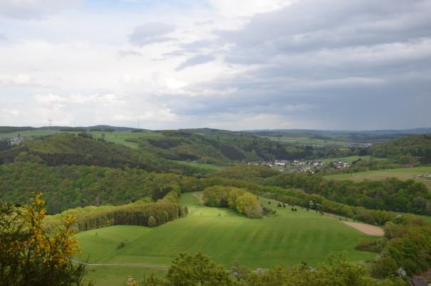 Der willkommene Lohn nach all der Anstregnung wird prompt gegeben auf dem Westerwald Steig #TTwandern ©entdecker-greise.de