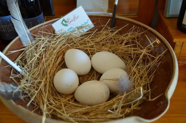 Frischer können die Eier kaum sein ... ©entdecker-greise.de