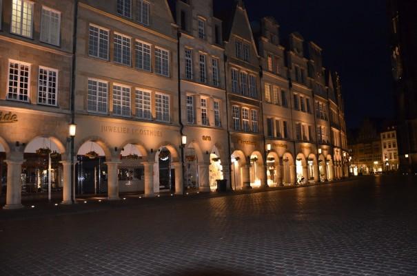 Der Prinzipalmarkt bei Nacht - einfach nur wunderschön ... ©entdecker-greise.de