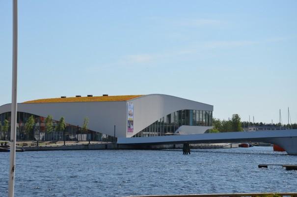 Überall gibt es etwas zu entdecken ... hier das Kulturhaus in Mandal. ©entdecker-greise.de