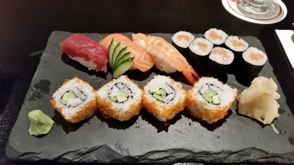 Auch die Sushi Variationen können sich sehen lassen! ©entdecker-greise.de