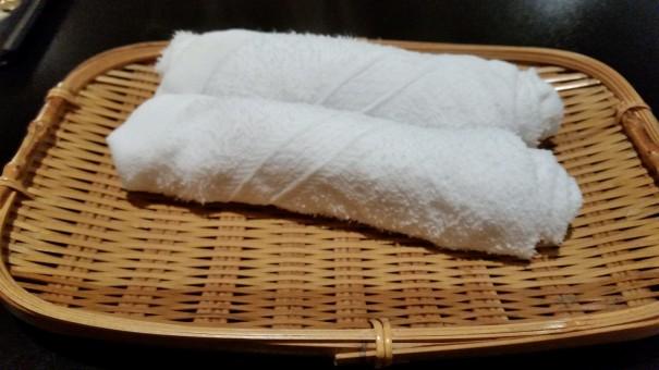 Traditionelle japanische o-shibori zur Reinigung der Hände ©entdecker-greise.de
