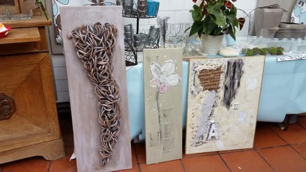 Und auch diese Kunstwerke wurden an diesem Wochenende bei Beate Buchner erschaffen! ©entdecker-greise.de