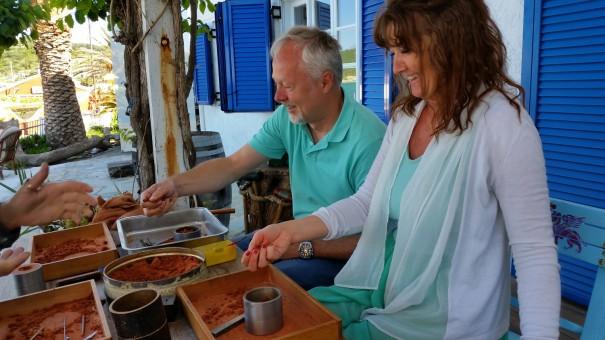 Mary und Michael kennenzulernen war herzergreifend! Es war einfach nur schön, die Beiden in Ihrem Glück zu beobachten! #Corfelios ©www.entdecker-greise.de