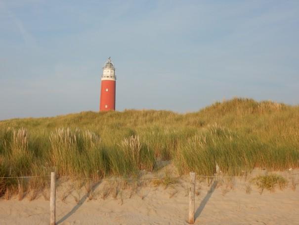 Der Leuchtturm Eierland - ein Wahrzeichen von Texel. ©www.entdecker-greise.de