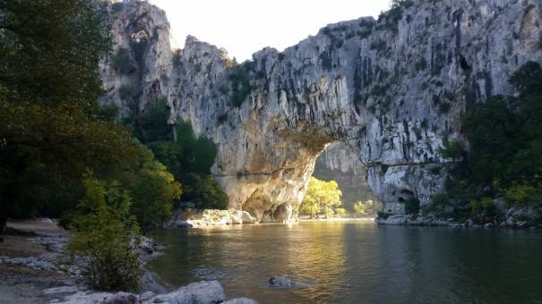 Die Pont d`Arc in all ihrer Pracht! ©www.entdecker-greise.de