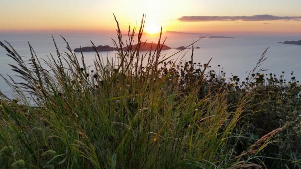 Und spätestens bei diesem Anblick weißt Du, dass Du einfach wiederkommen muss! Sonnenuntergang auf Korfu! ©www.entdecker-greise