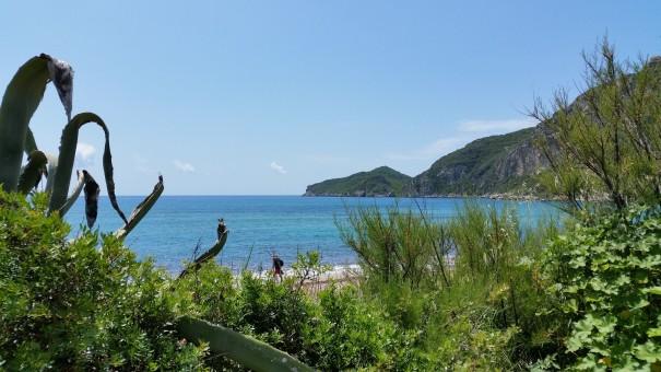 Blick auf die Bucht Agios Georgius ©www.entdecker-greise.de #corfelios