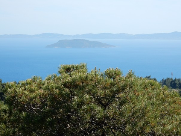 Die vorgelagerte Schildkröteninsel ©www.entdecker-greise.de #corfelios