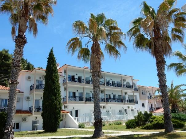 Hotel Lily Ann Beach 1 auf Sithonia, Chalkidiki, Griechenland ©www.entdecker-greise.de #corfelios