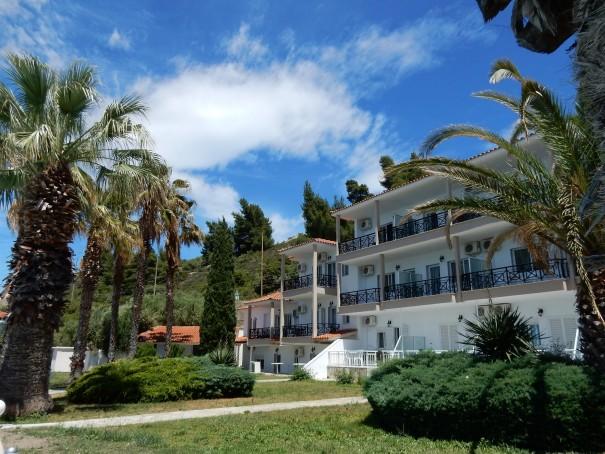 Hotel Lily Ann Beach 5 auf Sithonia, Chalkidiki, Griechenland ©www.entdecker-greise.de #corfelios