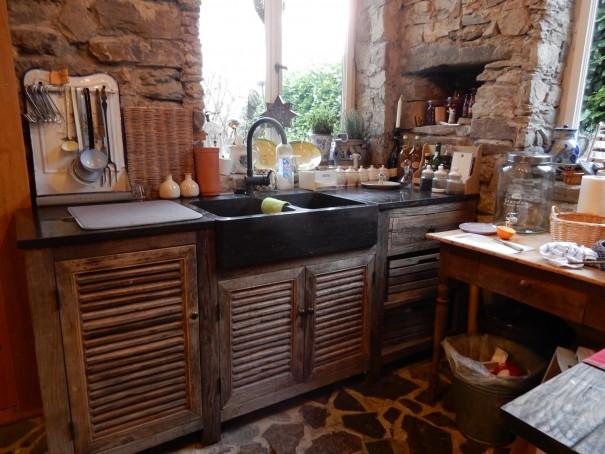 Hier in der Küche der Kleinen Fromagerie findet der Empgang zur Sinfonie der Sinne statt ©www.entdecker-greise.de