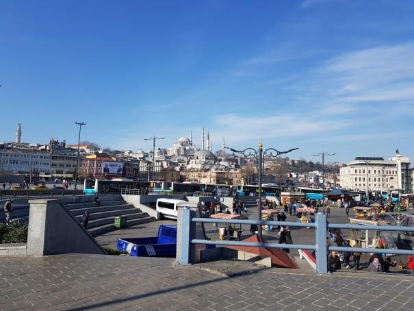 Istanbul die Stadt auf zwei Kontinenten.